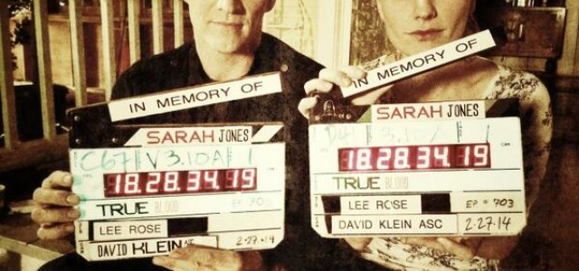 """Stephen Moyer & Anna Paquin support """"Slates for Sarah"""""""
