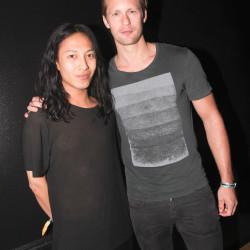 Alexander Skarsgård attends Alexander Wang X H&M Coachella Party