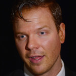 Actor Jim Parrack at Broadway opening for 'Of Mice and Men'