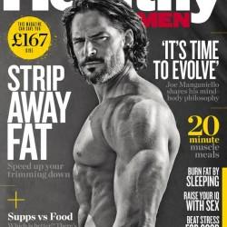 Joe Manganiello Covers Healthy For Men UK Magazine