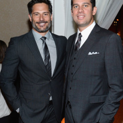Joe Manganiello at People/TIME WHCD Cocktail Party