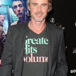 "Sam Trammell Attends ""God's Pocket"" Premiere in Los Angeles"
