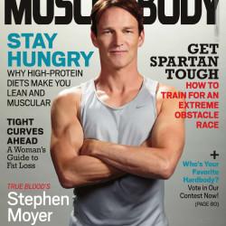"Stephen Moyer in ""Muscle & Body"" Magazine"