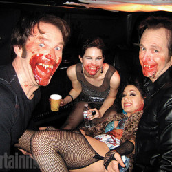 Stephen Moyer shares True Blood Candids with EW
