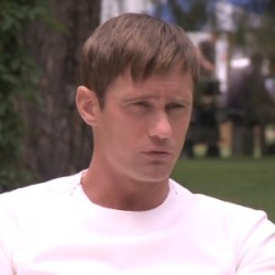 """Video Interview with Alexander Skarsgård for """"The Giver"""""""