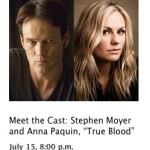 Anna Paquin & Stephen Moyer to appear at Apple Store in SoHo