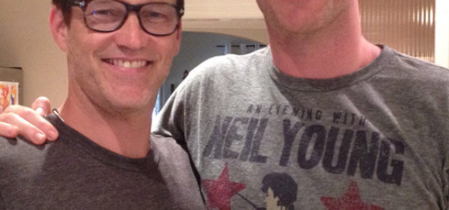 """Stephen Moyer guests on EJ's Podcast """"Scratch the Surface"""""""