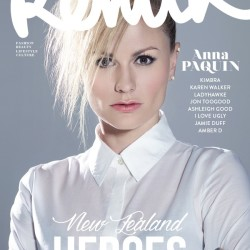 Anna Paquin in ReMix Magazine New Zealand