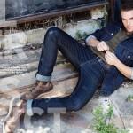 Riley Smith Featured in DA MAN Magazine