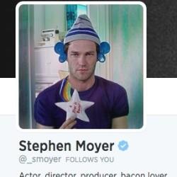 Stephen Moyer answers Fan Questions on Twitter