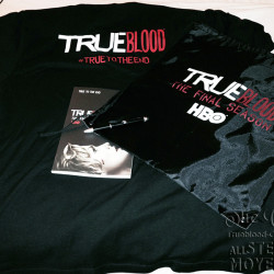 Comic Con 2014 True Blood Swag