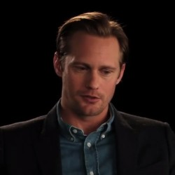 Alexander Skarsgård says Thank You