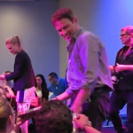 Anna Paquin and Stephen Moyer signing at July's Apple Event