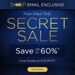 HBO Shop Secret Sale – Save up to 60%