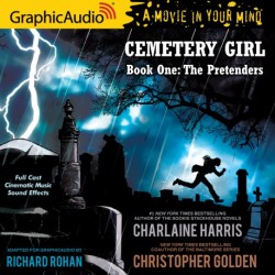 """First Graphic audio of Charlaine Harris """"Cemetery Girl"""""""