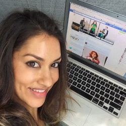 """Janina Gavankar Q&A with Fans of """"Mysteries of Laura"""""""