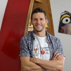 Ryan Kwanten in Australia as McHappy Day Ambassador