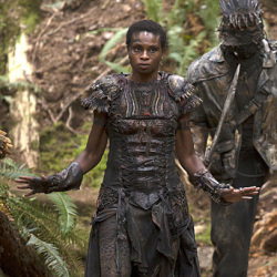 "Adina Porter as Indra in ""The 100″"