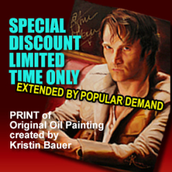 Extended to Dec. 15 Sale of Stephen Moyer painting prints