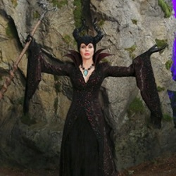 "Images of Kristin Bauer's ""Maleficent"" which airs Sunday night"