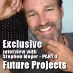 Exclusive Interview: Part 4 Stephen Moyer's Future Projects