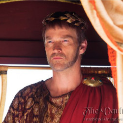 Portrait of Stephen Moyer as Pontius Pilate in Killing Jesus