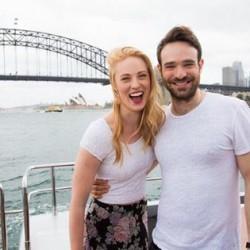 Deborah Ann Woll in Australia for Netflix Launch