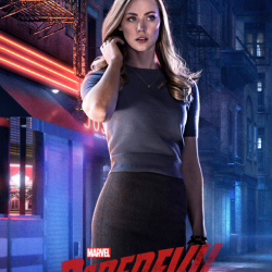"Deborah Ann Woll's ""Daredevil"" premieres on Netlix today!"