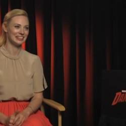 "Deborah Ann Woll Interview about her role in ""Daredevil"""