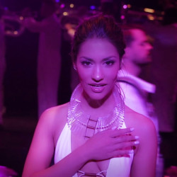 "Janina Gavankar Music Video: ""Don't Look Down"""