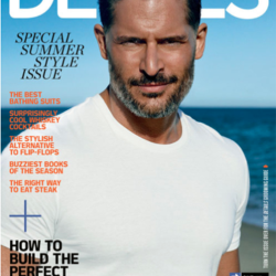 "Joe Manganiello Covers ""Details"" Magazine"