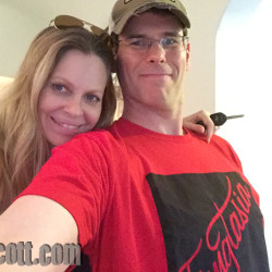 Kristin Bauer van Straten Guest on EJ Scott's Podcast