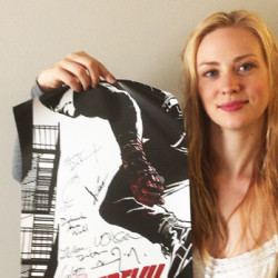"WIN a ""Daredevil"" Poster signed by Deborah Ann Woll"