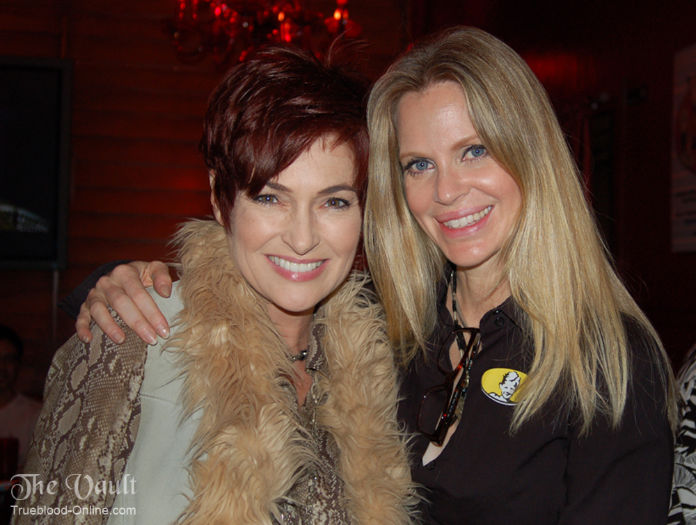 Kristin Bauer van Straten with Carolyn Hennesy