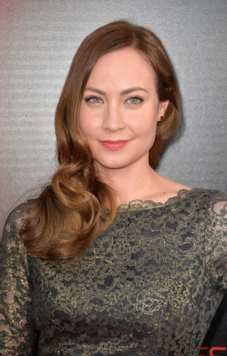 Courtney Ford at the True Blood Season 6 Premiere