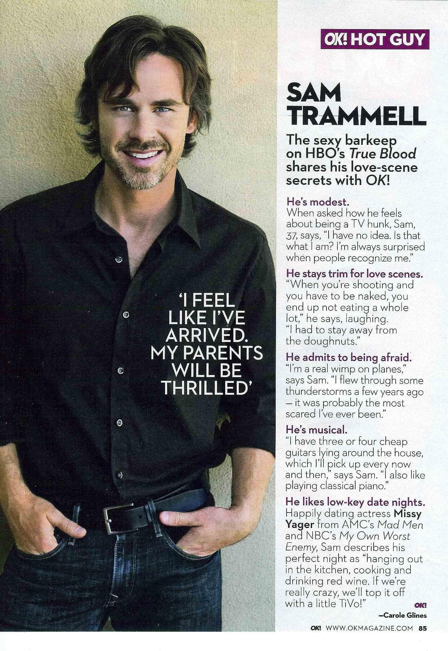 sam trammell is ok hot guy truebloodonlinecom