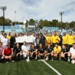Stephen Moyer plays Footy for Charity