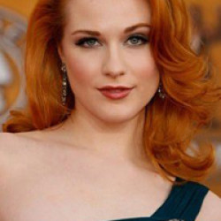 Evan Rachel Wood in a performance of The Rocky Horror Picture Show