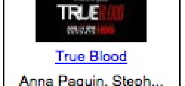 True Blood: The Complete First Season summer sale