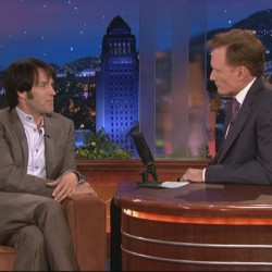 Re-run of Stephen Moyer on The Tonight Show with Conan O'Brien