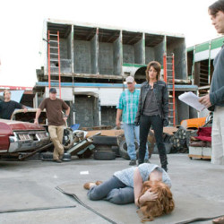 True Blood behind the scenes photos