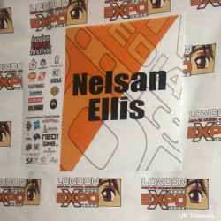 Nelsan Ellis represents True Blood at the MCM Expo in London