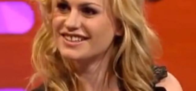 Video: Anna Paquin on the Graham Norton Show