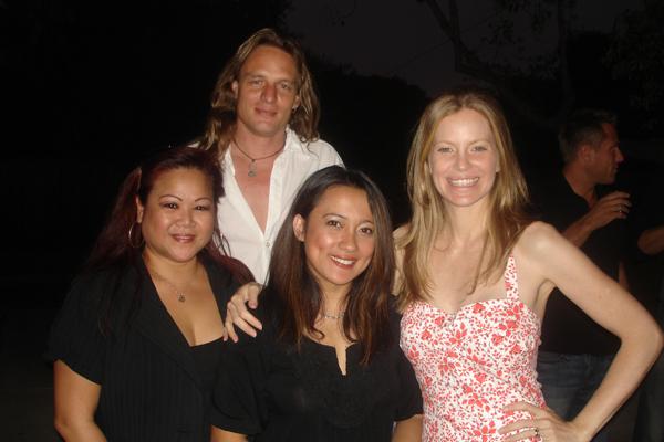 Jessica Watkins, Gretchen Leonardia, Kristin Bauer and Abri Van Straten