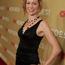 Carrie Preston attends the 2009 CNN Heroes Awards