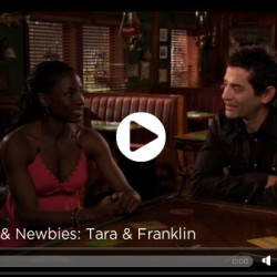 Truebies and Newbies: Rutina Wesley (Tara) and James Frain (Franklin)