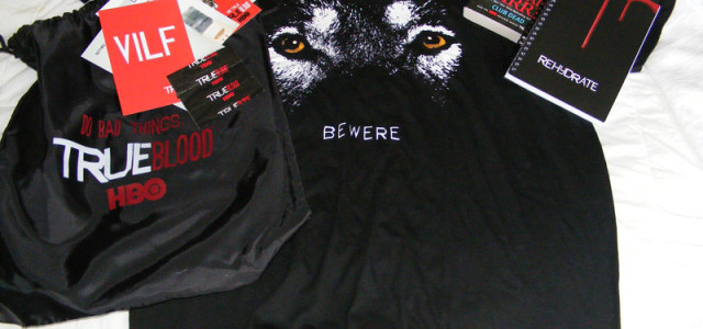 True Blood Comic-Con Swag Bag