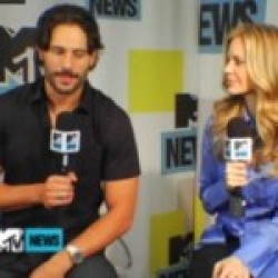 Video: Kristin Bauer and Joe Manganiello interviewed by MTV