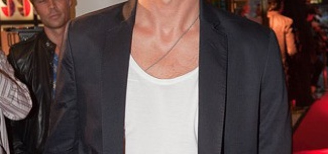Alexander Skarsgård attends the premiere of 'Puss' in Stockholm, Sweden