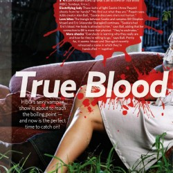 US Magazine – True Blood Fever and Blood Relations!
